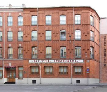 Hotel Zenit Imperial Valladolid Fachada
