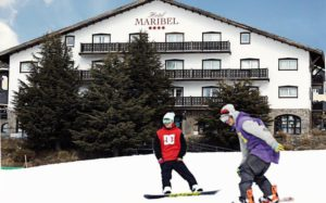 Hotel HG Maribel Sierra Nevada exterior hotel nieve