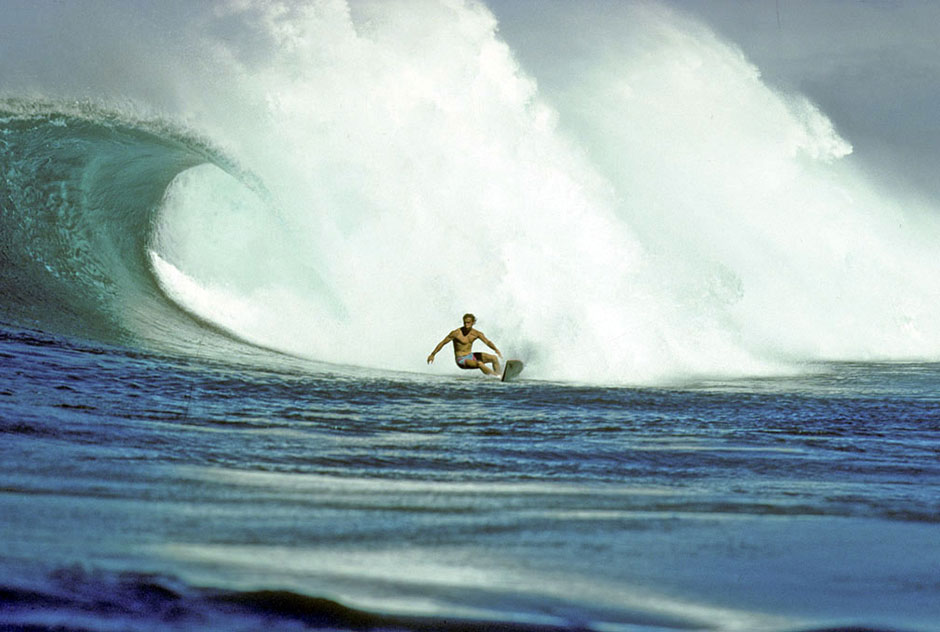 Jeff Divine | Bottom Turm de Tom Carroll en Sunset en los '80