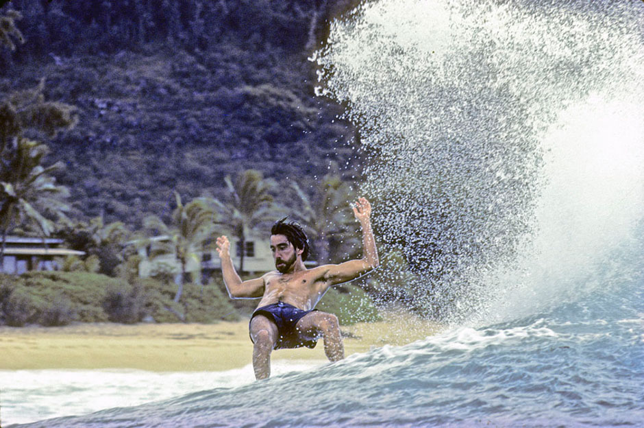Jeff Divine | Gerry Lopez en Pipeline. 1979