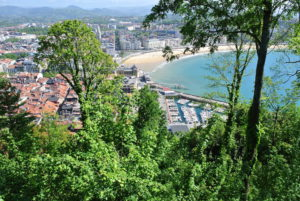 "San Sebastian Donostia Monte Ulia ""The view from the Top"" Cat Stevens"