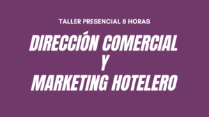 Curso Direccion Comercial y Marketing hotelero SANTIAGO
