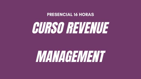 Curso REVENUE MANAGEMENT SANTIAGO
