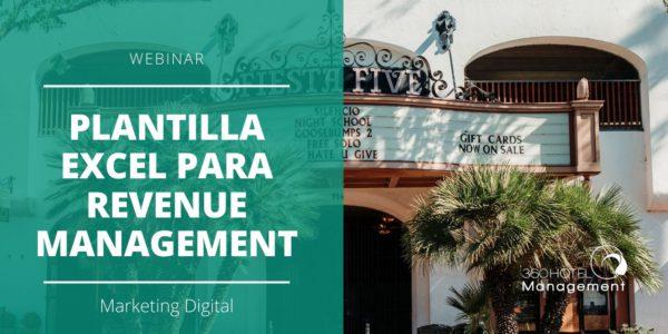 Webinar Plantilla Excel para Revenue Management 1200