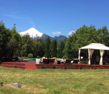 cabanas natural park lodge pucon chile