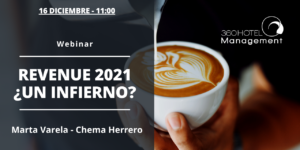 Webinar El infierno del Revenue Management en 2021