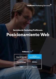 Portada Servicios de Marketing Profitroom ES y posicionamiento seo para hoteles