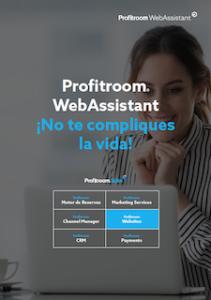 Portada Webassistant para la web de tu hotel