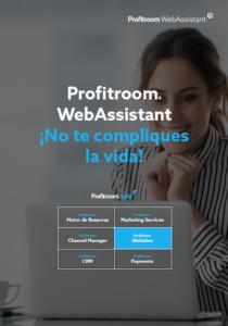 Portada Webassistant para hacer la página web de tu hotel