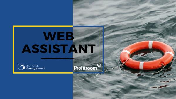Pagina web Webassistant Profitroom