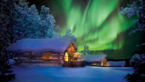 Hotel kakslauttanen iglu de hielo y cristal