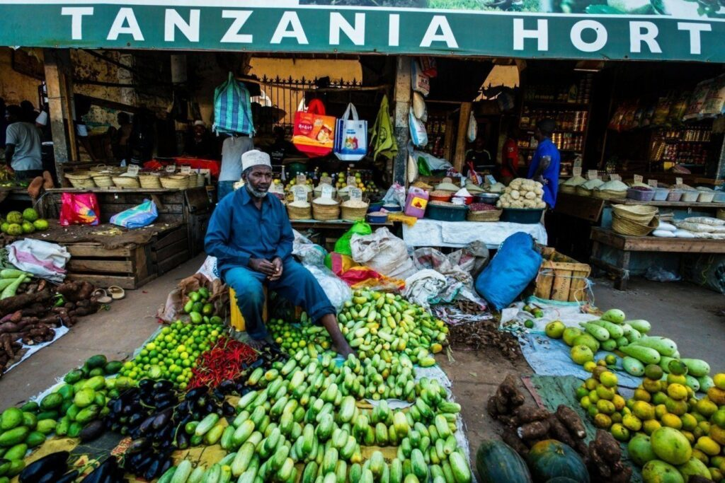tanzania mercado de hortalizas