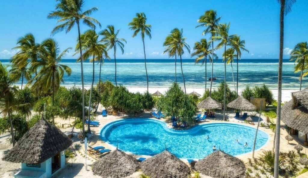 zanzibar queen hotel piscina