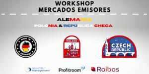 Los Mercados Alemán, Polaco y Checo destino España. Cómo está marzo'21. Workshops Mercados emisores.