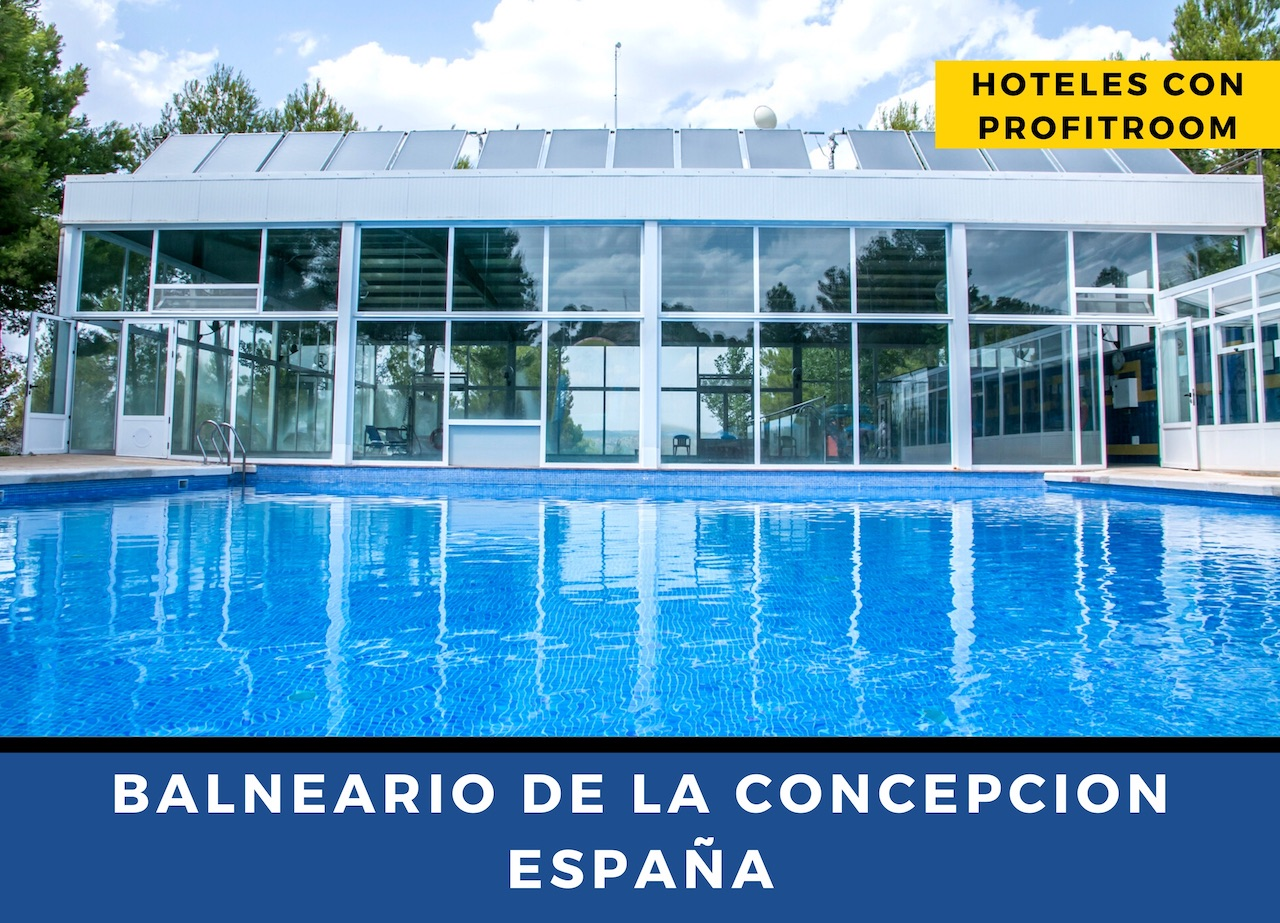 Balneario de La Concepción Hoteles con Profitroom